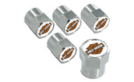 Harley-Davidson 2 Color Bar & Shield Valve Stem Cap