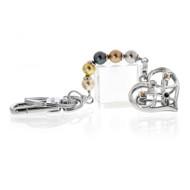 Pearl Heart Key Chain (KC001N)
