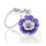 Purple Flower Key Chain (KC008-PP)