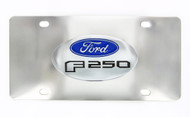 Ford F 250 Decorative Vanity License Plate with Ford Logo