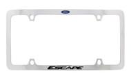 Ford Raptor Black Powder Coated zinc License Plate Frame Holder 2 Hole