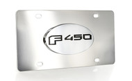 Ford F 450 Chrome Decorative Vanity License Plate