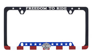 Harley-Davidson® 'FREEDOM TO RIDE' UV Printed License Frame