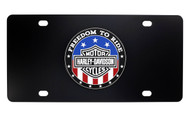 Harley-Davidson® ' FREEDOM TO RIDE' License Plate
