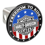 Harley Davidson ' FREEDOM TO RIDE'  Hitch Cover