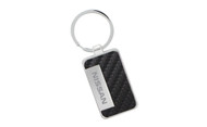 Nissan Black Simulated Carbon Fiber Key Chain