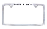 Buick Encore Chrome License Plate Frame _ Thin Rim Frame