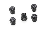 Dodge SRT Hell Cat  Black Valve Stem Caps