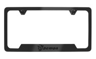 Dodge SRT Demon Black Coated License Frame