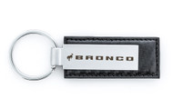 Ford Bronco Simulated Carbon Fiber Keychain