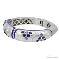 Mona Bangle Embellished with Swarovski Crystals