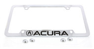 Acura Officially Licensed Chrome License Plate Frame Holder (ACA1-13-UF)