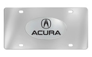Acura  Officially Licensed Chrome Decorative Vanity Front License Plate