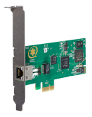 TE133F - One (1) span digital T1/E1/J1/PRI PCI-Express card with hardware echo cancellation