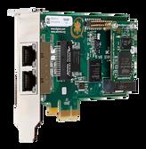 1TE235F - Two (2) span digital T1/E1/J1/PRI PCI-Express x1 card