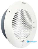 011400 - InformaCast Enabled Talk Back Speaker - Remote Push To Talk Button not included - Signal White