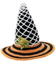 San Diego Hat Co. Halloween COBWEB WITCH 1-2T,2-4T