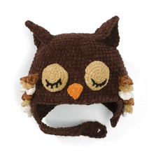 San Diego Hat Co. BROWN OWL Baby 6-12M,1-2T,2-4T
