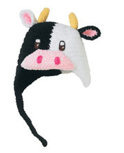 San Diego Hat Co. Baby COW Girl Cap 0-6M,6-12M,1-2T