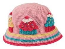 San Diego Hat Co. Daylee Designs PINK CUPCAKE Baby Toddler Girl Hat