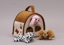 Unipak Plush DOGS FINGER PUPPET ANIMAL HOUSE toy