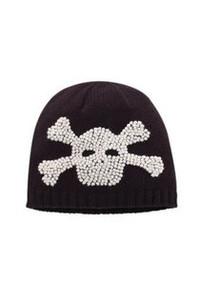 San Diego Hat Co. Children Kids BLACK SKULL BEANIE Knit Cap Hat