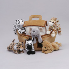 Unipak NOAH'S ARK HOUSE Plush Animals toy