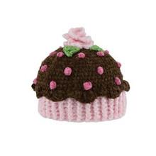 San Diego Hat. BABY Brown PInk Hat CUPCAKE Beanie