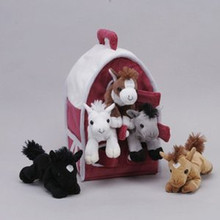 "Unipak Design Plush Toy - 12"" HORSE HOUSE"