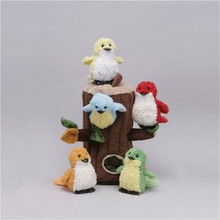 "Unipak Plush Toy - 12"" BIRD HOUSE"