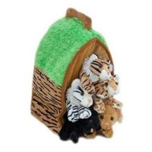 Unipak Plush Toy - WILD ANIMAL HOUSE