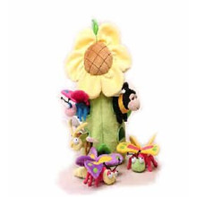 Unipak Plush Toy - Sunflower House Insects Bugs