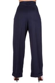 Banned Hidden Away Trousers - Navy