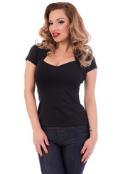 Steady Sophia Top - Black