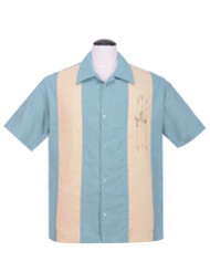 Steady The Shakedown Button Up - Blue