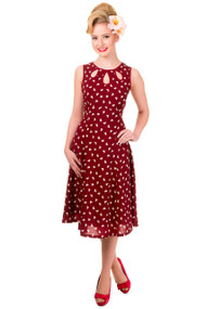 Banned Songbird Dress - Red