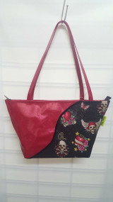 Vintage Chics Macquarie Bag - Glitter Skulls