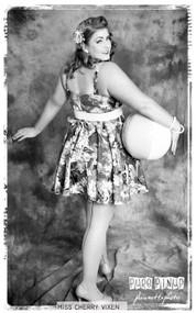 Card 1 - Set #1 Miss Cherry Vixen