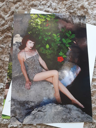 Brittany Jean - USA pinup signed print
