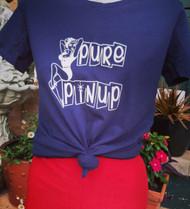Pure Pinup logo tee - BLACK