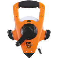 Heavy Duty 200' Fiberglass Blade Tape Measure