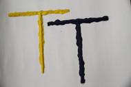 "1"" T Shape Joint Texture Strip"