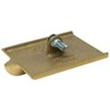 "8 x 4 1/2"" Bronze Walking Groover-Double End, 1D, 1/2W, 1/4R"