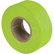 "Lime Glow Flag Tape 1"" x 150'"