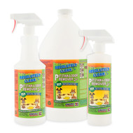 AMAZING PET STAIN & ODOR REMOVER, PROFESSIONAL STRENGTH: Natural Enzymes Remove Most Stains in 60 Seconds -Dog/Cat Urine, Vomit, Bile, Feces, Grass, Blood, Drool, More -USA Made -Veterinarian Approved