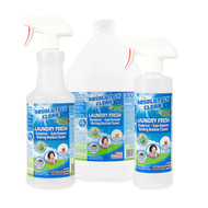 Best Laundry Stain & Odor Remover - Powerful Enzymes Eliminate Odors & Stains - Food, Grease, Oil, Red Wine Stains & More - Sweat, Stains & Odors From Mold & Mildew - Cleans & Deodorizes Washing Machines - USA Made