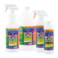 Amazing Small Animal Cage Cleaner - Just Spray/Wipe - Easily Removes Messes & Odors - Hamsters, Mice, Rats, Guinea Pigs, Ferrets - Veterinarian Approved - USA Made