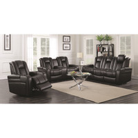 Delangelo Power Reclining Sofa  LED-USB-AND MORE! Add Love Seat and Chair too!