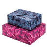1 large and 1 medium Crackle Wrap in our Cartwheeling Trees print. Pack includes one bag in Ocean Blue and the other in Raspberry.