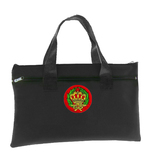 Amaranth Black OES Tote bag for Order of the Eastren Star - Colorful Crownand Wreath Round Classic Icon